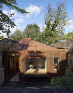 Brexit bunker garden studio Kensal Rise London