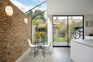 Reclaimed bricks RISE Design Studio