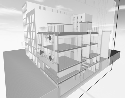 architects computer model