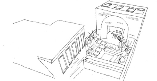architects sketch west london